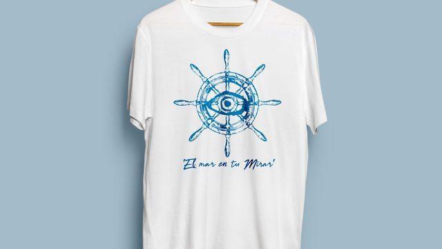 """Camiseta """"El mar en tu mirar"""""""