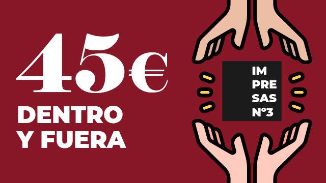 DENTRO Y FUERA - PAPEL Nº1 y Nº2 + DONAS 1 REVISTA PARA PRISIÓN