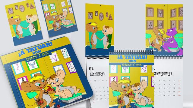Libro + Calendario de Pared + 2 laminas