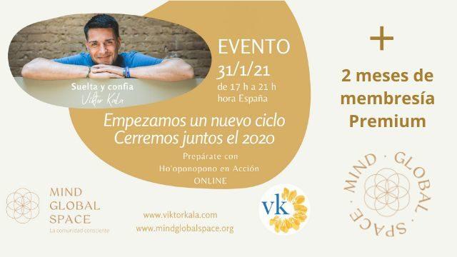 Evento Víktor Kala + 2 meses de membresía Premiun