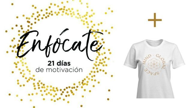 Curso online de Creación de Hábitos + Camiseta Mind Global Space