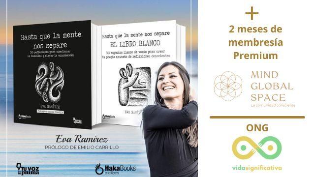 "Libro ""Hasta que la Mente nos separe"" + 2 meses de Premium + ONG Vida Significativa"