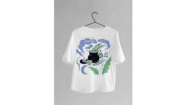Camiseta algodón eco Caldero Mágico + EP digital