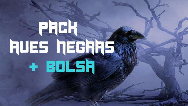 Pack Tierra de Aves Negras + Bolsa Tela