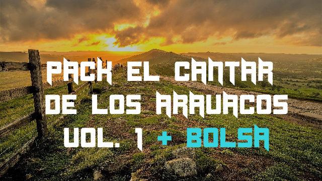 Pack el Cantar de los Aravacos Vol. 1 + Bolsa tela