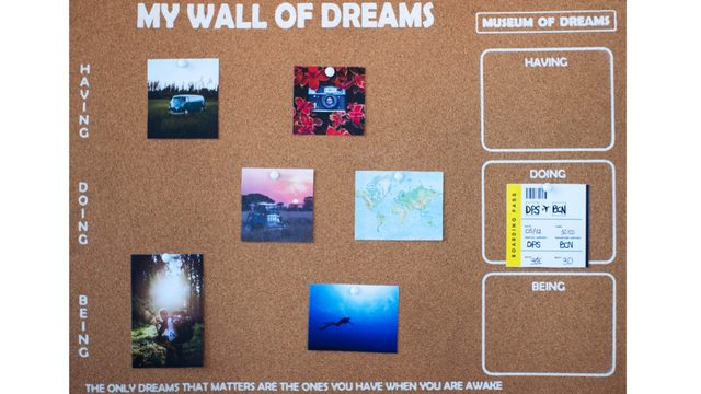 Visual Board: My Wall of Dreams