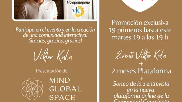 Promoción - Sorteo Evento Viktor Kala Creación Comunidad Consciente