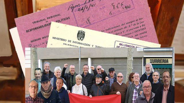 """6 libros """"Memoria colectiva de la Joventut Comunista en Mataró"""""""
