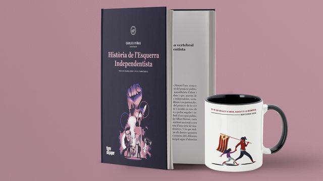 Llibre + targetons + tassa + enviament