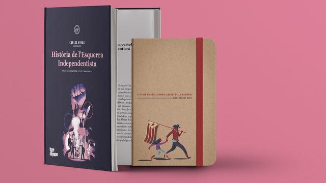 Llibre + targetons + llibreta + enviament