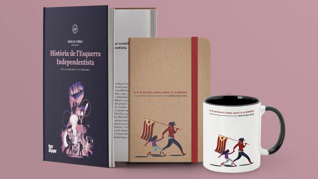 Llibre + targetons + llibreta + tassa + enviament
