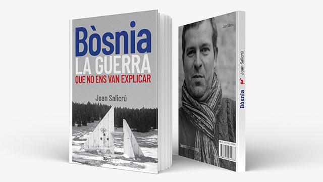 """Llibre de paper """"Bòsnia, la guerra que no ens van explicar"""""""
