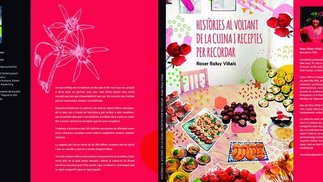 """El llibre """"Històries al voltant de la cuina i receptes per recordar"""""""