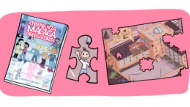 Cómic + Puzzle + Personaje