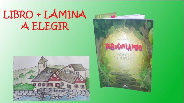 Libro + lámina de dibujo a elegir. (Gastos de envío a España incluidos)