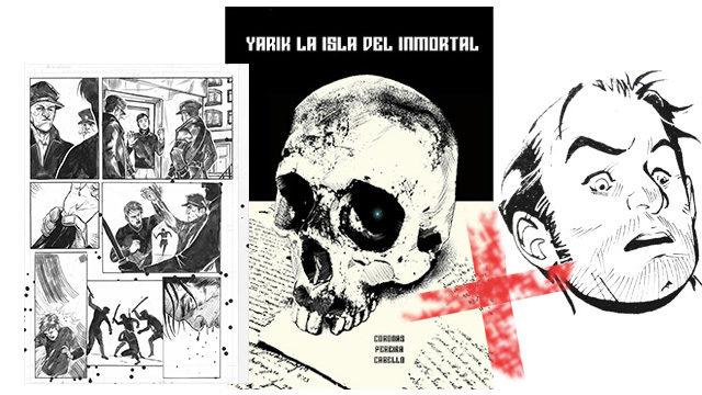 Original página 27, libro con dedicatoria a bolígrafo.