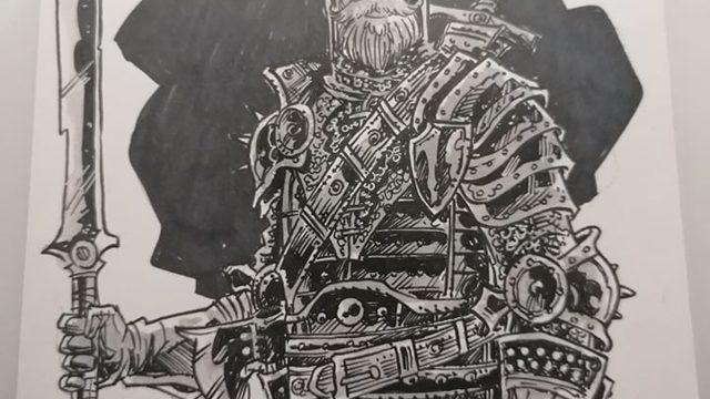 Soldado Orden Oscura