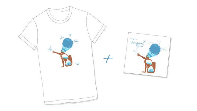 Camiseta y disco digital TEMPORAL