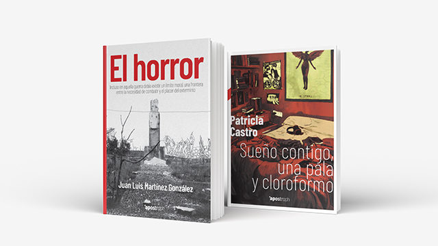 """Literatura crítica: """"El horror"""" + """"Sueño contigo, una pala y cloroformo"""""""