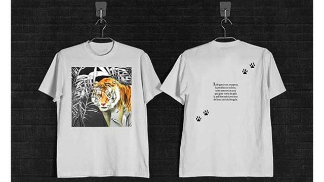 Llibre il·lustrat + 2 samarretes + Punt de llibre