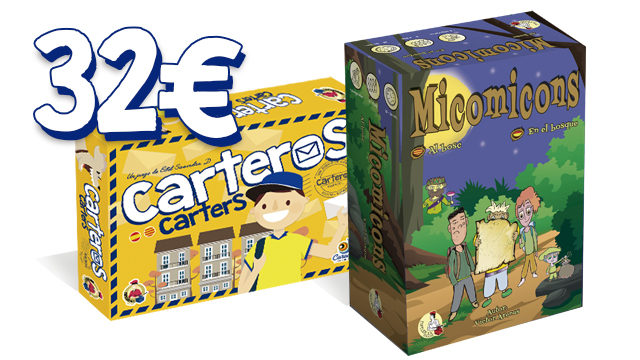 Pack Carteros en el Bosque