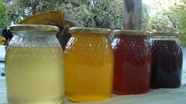 22 botes de miel.