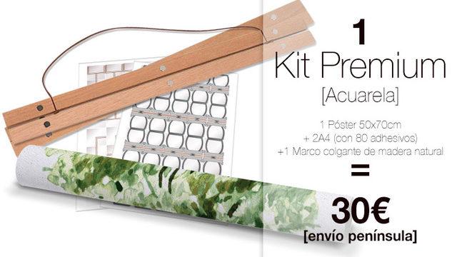 Kit Premium My Family Tree® AQUARELA
