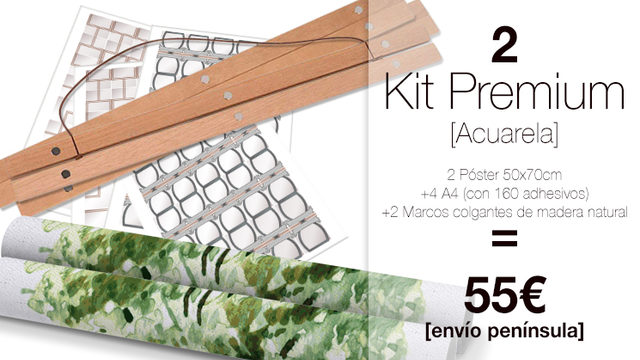 Kit Premium DUO My Family Tree® ACUARELA