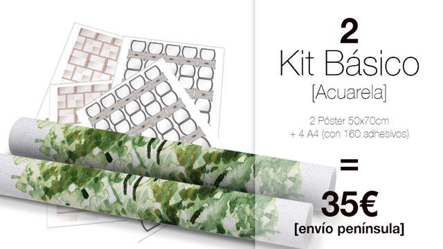 kit Básico DUO My Family Tree®  ACUARELA