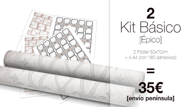 kit Básico DUO My Family Tree® ÉPICO
