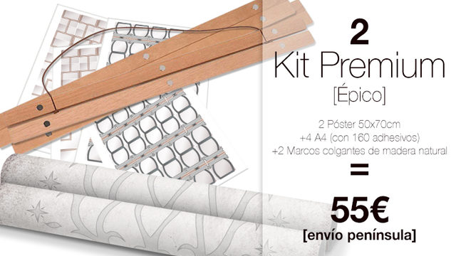Kit Premium DUO My Family Tree® ÉPICO