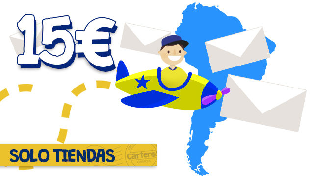 Envio Islas Baleares, Canarias e Internacional ( SOLO TIENDAS )