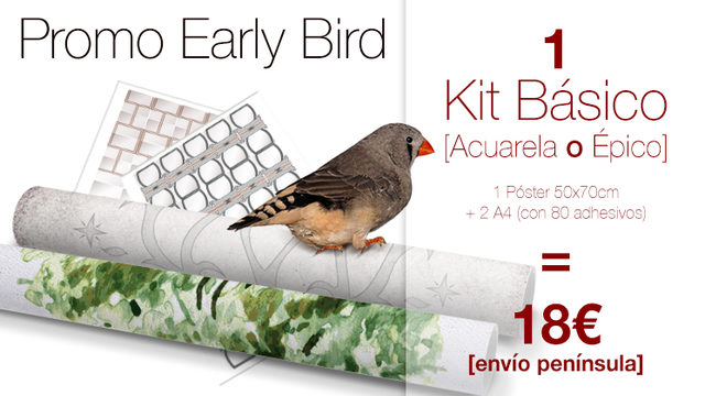 kit Básico My Family Tree® Early Bird