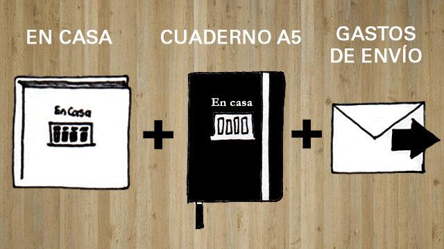 Libro En casa + Cuaderno A5