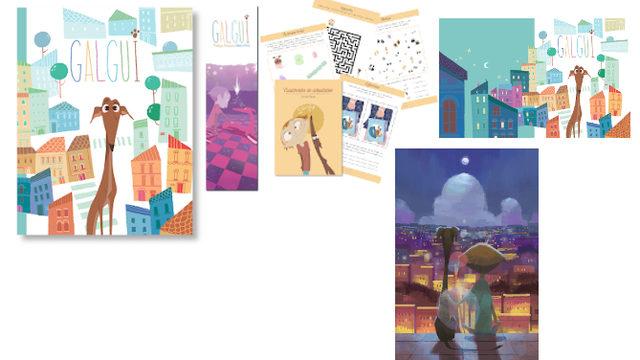 Aventuras: Libro con marcapáginas, Cuadernito Actividades, Fondo de Escritorio y MasterClass Videotutorial.