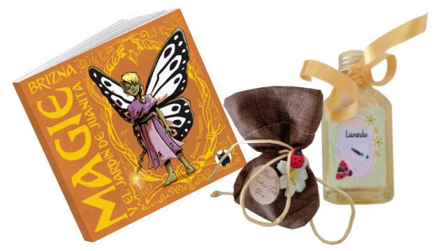Cuento + Jabón y aceite esencial artesanales