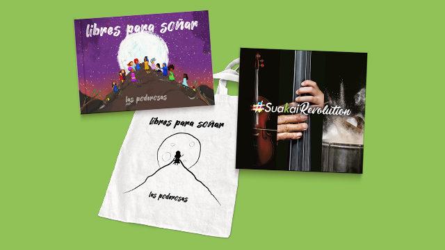 Disco-libro + Bolsa + Pack #SuakaiRevolution