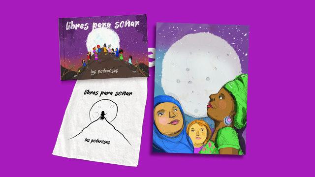 Disco-Libro + Bolsa + Ilustración Myriam Cameros