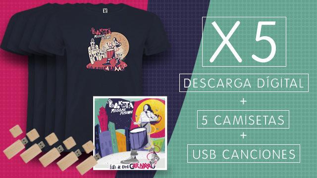 Pack Salsa x5 - USB