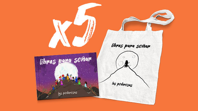 Pack de 5 Disco-Libros + 5 Bolsas