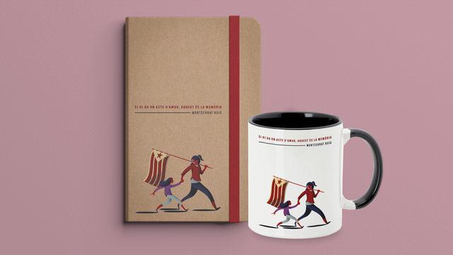 Complementa l'aportació: llibreta i tassa
