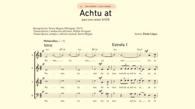BOOK + Dedication on an arrangement for MIXED CHORUS (SATB)
