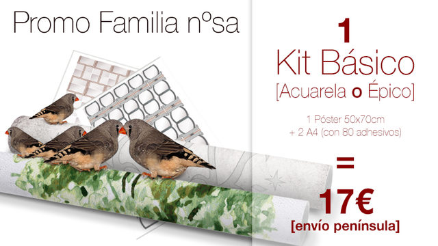 kit Básico My Family Tree® PROMO FAMILIA NUMEROSA