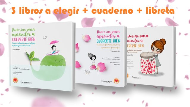 3 libros  + cuaderno de dibujo + libreta + dedicatoria + recursos educativos + envío con seguimiento a Domicilio + poster