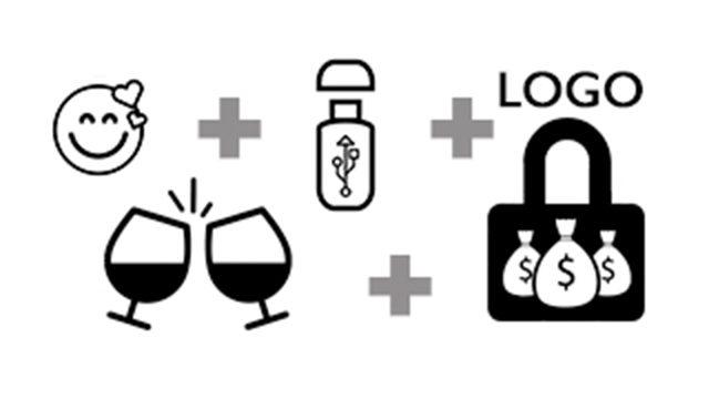 Pack Gran Mecenas (LOGO) y brindis