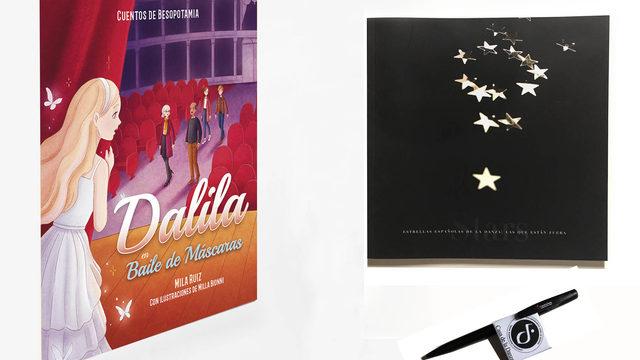 """CUENTO + Catálogo """"Las estrellas de la danza"""""""