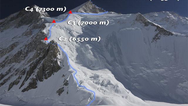 Gasherbrum II 8035 metros