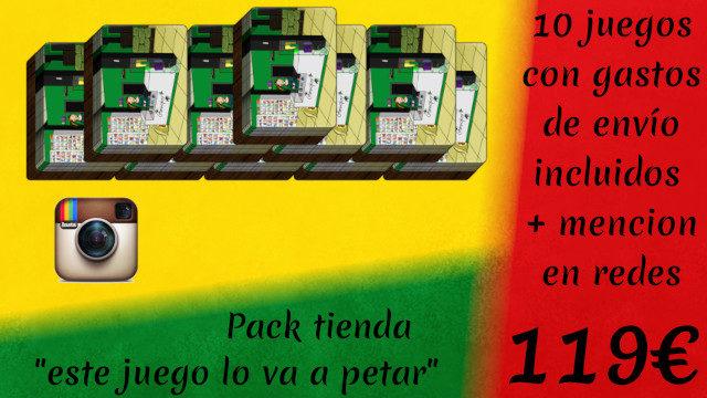 Pack Tienda: Este Juego lo va a petar