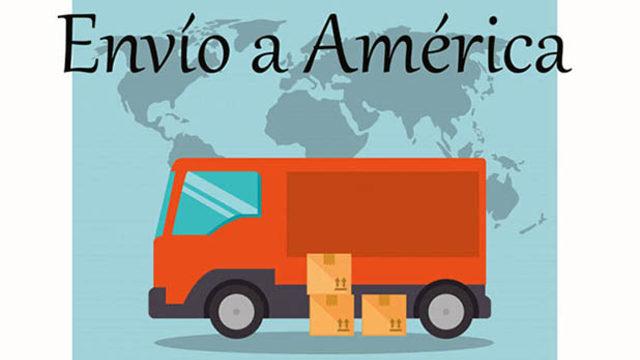 Gastos de envío a América