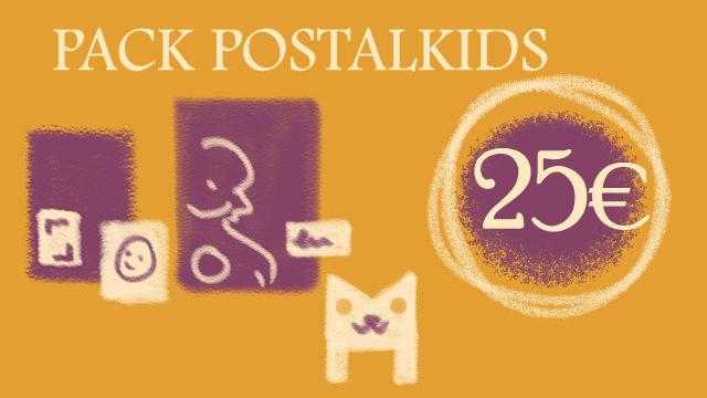 Pack postalkids